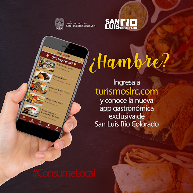 Disponible App de gastronomía local
