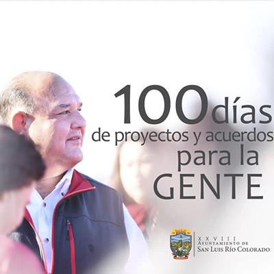 100 días de proyectos y acuerdos para la gente