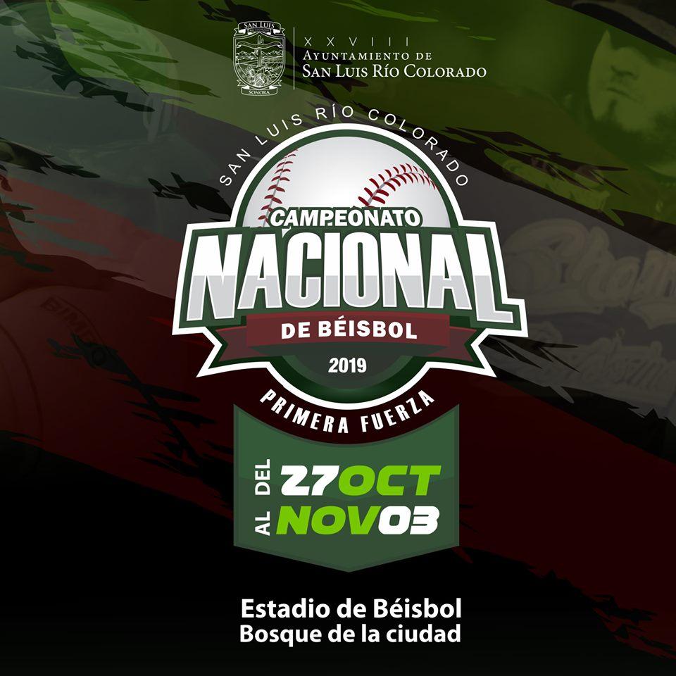 Campeonato Nacional de Béisbol 2019