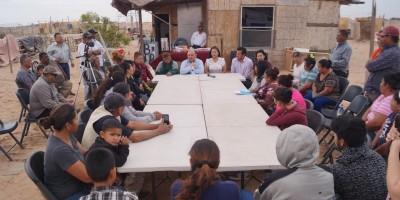 Anuncian nuevas obras de trabajo a ciudadanos de colonia Solidaridad