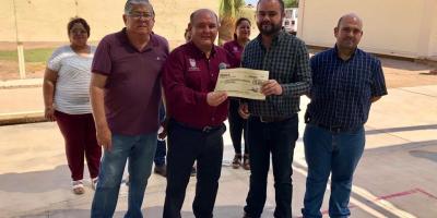 Apoya Alcalde al Cecytes para reparación de autobús