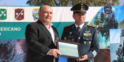 Celebra Ayuntamiento a militares por el Día del Ejército Mexicano