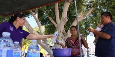 Dispone Ayuntamiento puntos de hidratación