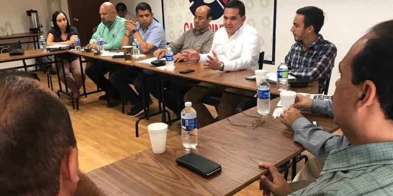 Gobierno y Canacintra cierran filas por la seguridad