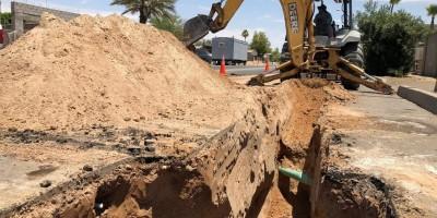 Instalarán drenaje pluvial en la ciudad