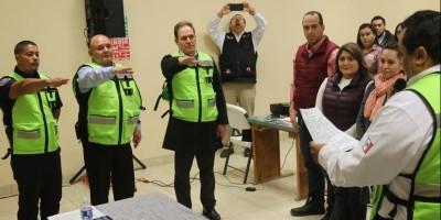 Integran el Consejo Municipal de Protección Civil