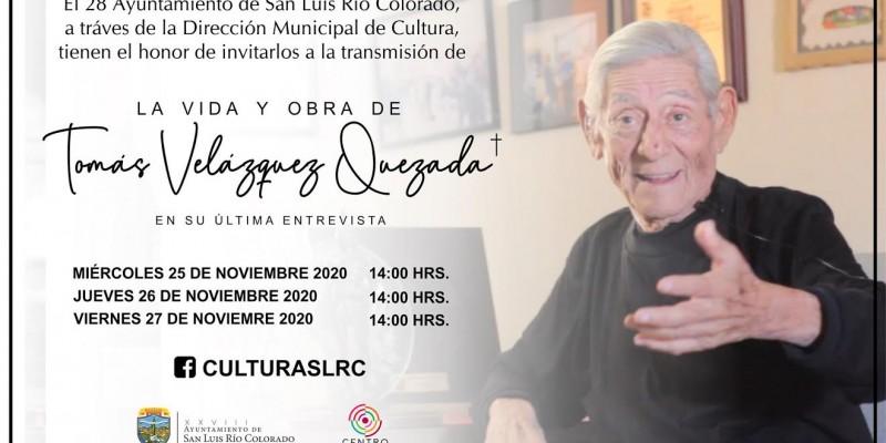 Invita Centro Cultural a seguir transmisión