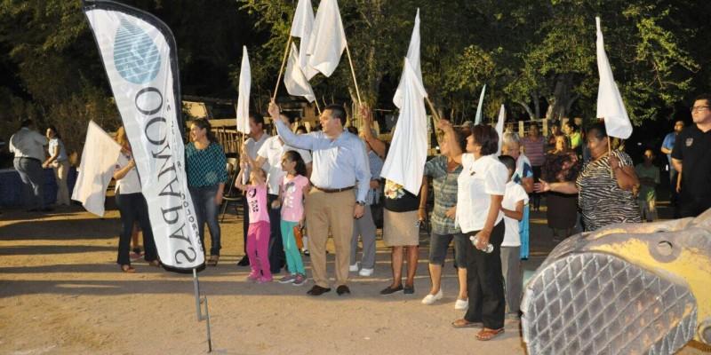 Llega ampliación de drenaje a colonias Progreso y México