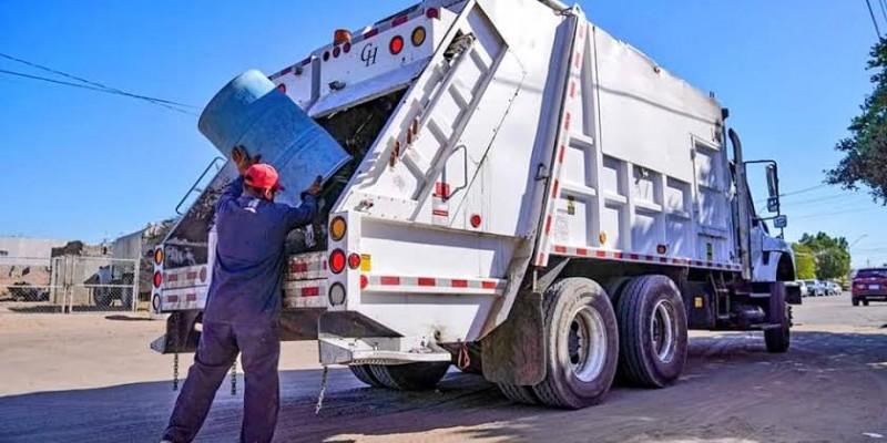 No habrá servicio de recolección de basura mañana
