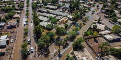 Realiza Ayuntamiento desagüe y limpieza de calles