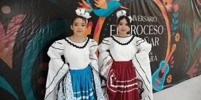 Realizan exhibición de danza folclórica en Golfo de Santa Clara