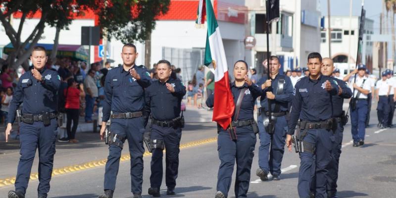 Se conmemora el 209 aniversario de la Independencia con el tradicional desfile cívico-militar