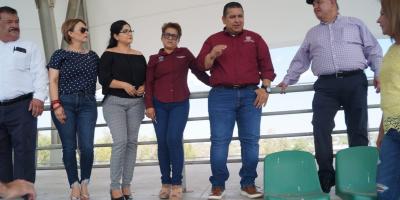 Verifica Alcalde avances en estadio de béisbol
