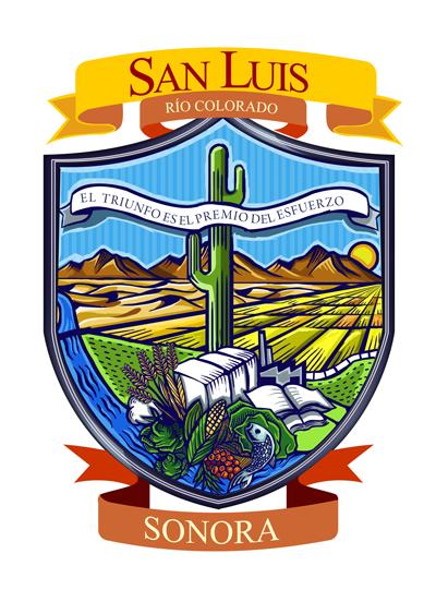Resultado de imagen para escudo de san luis rio colorado