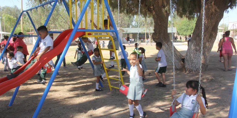 Beneficia obra 76 del gobierno municipal a preescolares del área rural