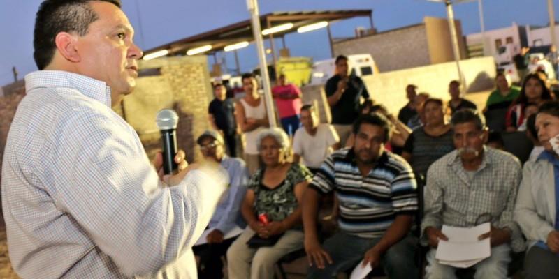 Da Gobierno Municipal seguridad patrimonial a 19 familias de la colonia Solidaridad