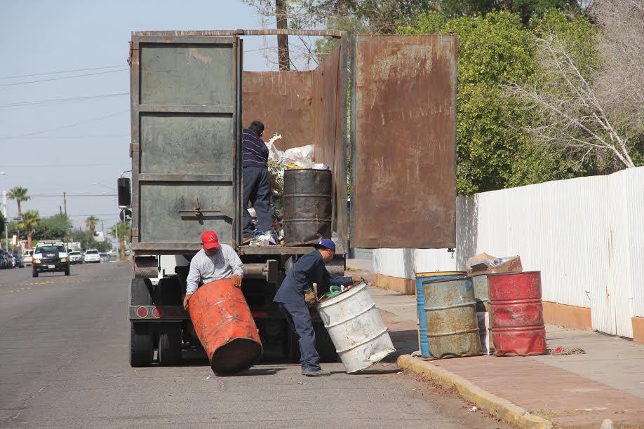 Recolección de basura sólo se suspenderá el viernes